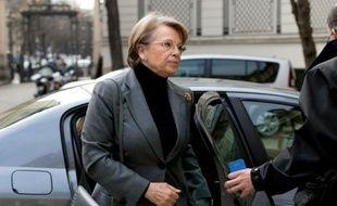 Michèle Alliot-Marie le 16 janvier 2015 à Paris