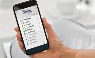 Les aidants disposent d'un smartphone et d'une application spéciale.