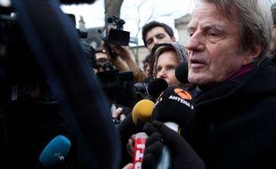 Bernard Kouchner, le  janvier 2015 à Paris.