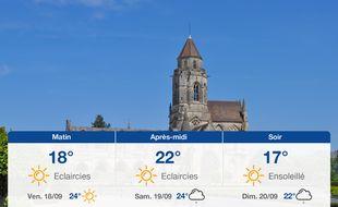 Météo Caen: Prévisions du jeudi 17 septembre 2020