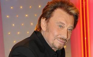 Johnny Hallyday le 14 mars 2014 pour l'émission Vivement Dimanche sur France 2