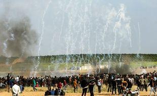 Quinze Palestiniens ont été tués vendredi 30 mars lors d'affrontements meurtriers dans la bande de Gaza.
