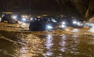 Le Maroc a enregistré 35 épisodes d'inondations entre 1951 et 2015 (ici près de Rabat en février 2017).