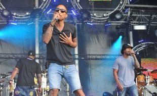 Le groupe N*E*R*D en 2010.