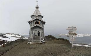 Le suspect a été enfermé dans cette église orthodoxe car il n'y a ni prison, ni commissariat en Antarctique.