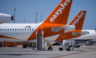 Des avions de la compagnie EasyJet sur le tarmac de l'aéroport de Roissy-Charles de Gaulle (image d'illustration).