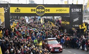 Le départ du Tour des Flandres en 2018