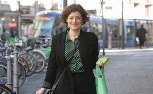 Jeanne Barseghian, nouvelle maire EELV de Strasbourg. Le 18 juin 2020.