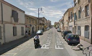 C'est dans cette rue à Figuerolles, qu'ont eu lieu les faits.