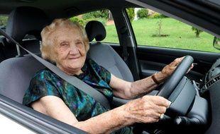 Une automobiliste de 98 ans à Sydney.
