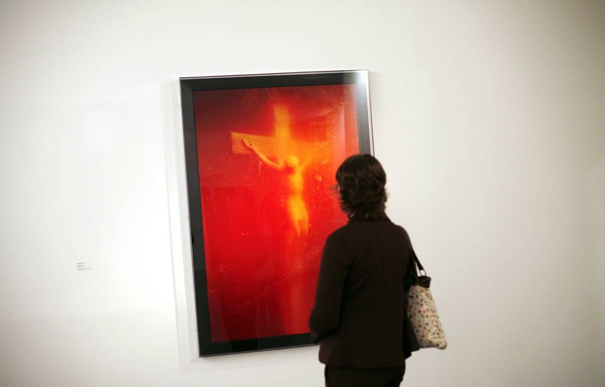 «Piss Christ» d'Andres Serrano – JEROME TAUB/ZEPPELIN/SIPA