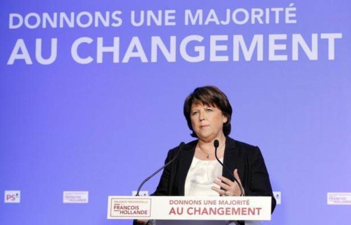 Le parquet de Lille ouvre une enquête préliminaire après avoir été saisi par Martine Aubry, qui estime avoir été l'objet de pressions du groupe Siemens lors de l'attribution d'un contrat pour le métro de Lille. – Pierre Verdy afp.com