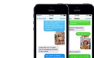 Le service de messagerie d'Apple iMessage ne fonctionne que sur iOS.