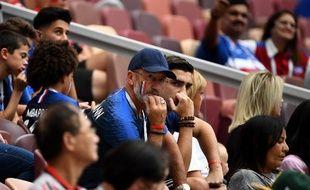 Le père et le frère d'Antoine Griezmann ont assisté au match entre la France et le Danemark.