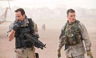 Matt Damon en Irak pour trouver des armes de destruction massive (à droite)