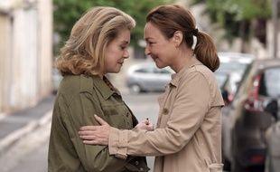 Catherine Deneuve et Catherine Frot dans Sage femme de Martin Provost