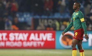 Samuel Eto'o avait tout misé sur la Coupe du monde, mais le Cameroun est éliminé après deux défaites, dont une contre le Danemark, le 20 juin 2010