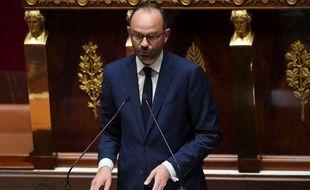 Edouard Philippe face à l'Assemblée nationale le 4 juillet 2017
