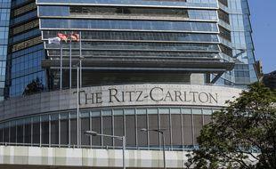 L'hôtel 5 étoiles Ritz-Carlton de Hong Kong.