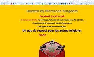 Le site internet de l'école privée catholique de l'Immaculée Conception a été piraté.