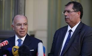 Le ministre de l'Intérieur, à l'issue de la rencontre réclamée par président du Conseil français du culte musulman (CFCM) Anouar Kbibech.