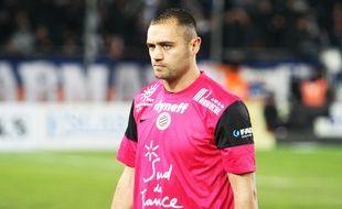 Laurent Pionnier, gardien du MHSC.