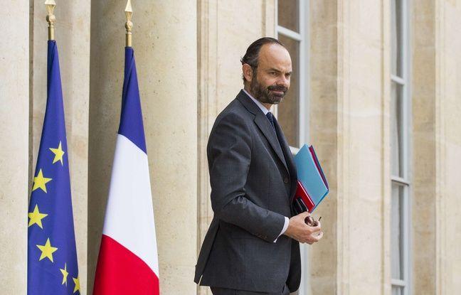Edouard Philippe à l'Elysée 18/05/2017. Credit:LEWIS JOLY/SIPA.