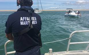 La préfecture maritime a effectué une série de contrôles en mer au niveau de l'estuaire de la Gironde, le 7 août 2019.