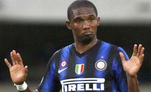 Samuel Eto'o va rater les trois prochains matchs de Serie A mais peut jouer en Ligue des Champions.