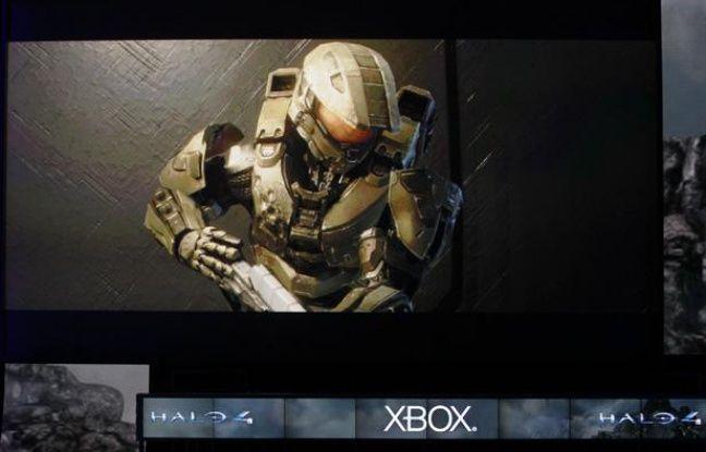 Les premières images du jeu «Halo 4», présenté au salon E3 de Los Angeles, le 4 juin 2012.