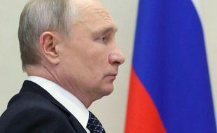 Vladimir Poutine le 22 décembre 2020 à Moscou.