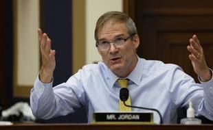 Le congressman Jim Jordan lors de la Commission sur la domination des Gafa à Washington, le 29 juillet 2020.