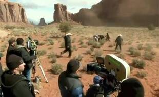 Johnny Depp tombe de sa monture sur le tournage du film «The Lone Ranger».