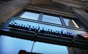 Une agence de Bank of America à New York, le 16 avril 2014