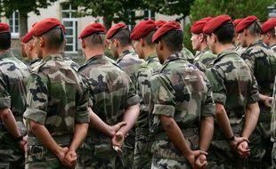 Des soldats du 8e Régiment parachutiste d'infanterie de marine (RPIMa), basé à Castres. Illustration.