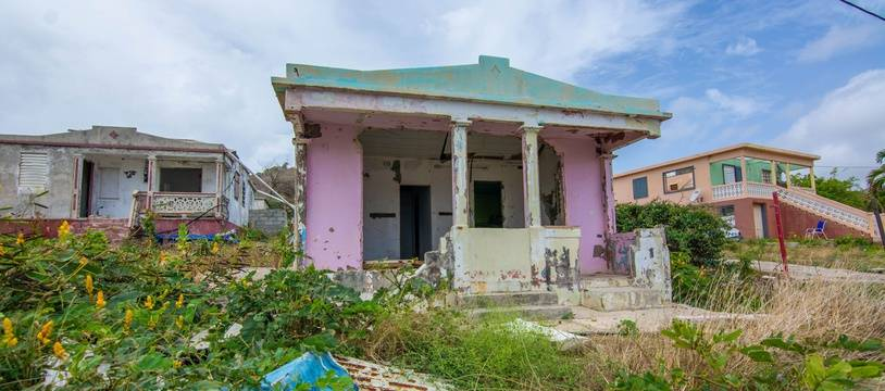 Dans ce quartier populaire de Saint-Martin, certain n'ont eu d'autre choix que de rester malgré l'état des logements.