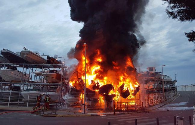 Marseille: L'incendie dans le port de la Pointe-Rouge est sans doute criminel