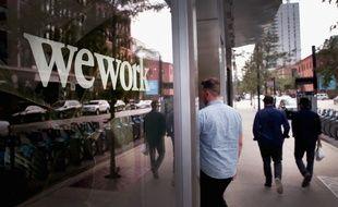 Des bureaux WeWork à Chicago.