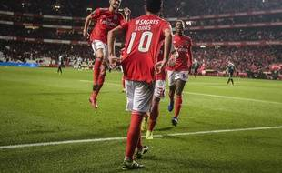 Les joueurs de Benfica ont collé 10 pions à leurs adversaires
