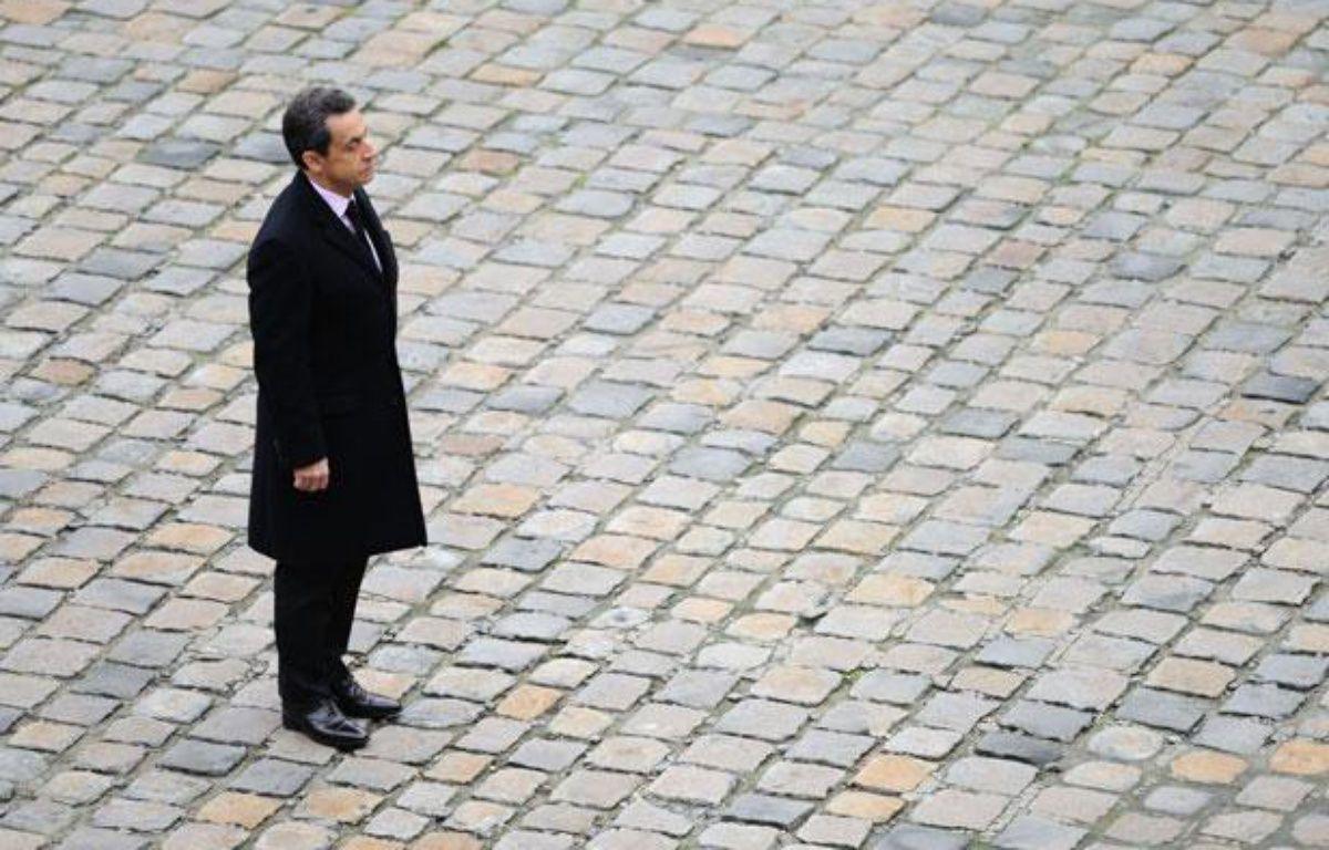 Nicolas Sarkozy à Paris, le 28 novembre 2011. – WITT/SIPA