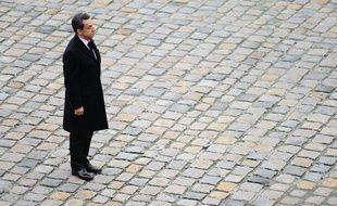 Nicolas Sarkozy à Paris, le 28 novembre 2011.