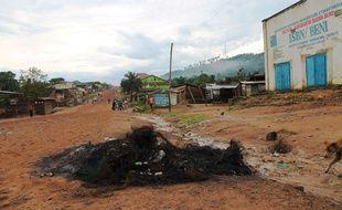 La ville de Béni, photographiée en 2014, là où 30 militaires congolais sont morts dans des affrontements avec le groupe armé des Forces démocratiques alliées.