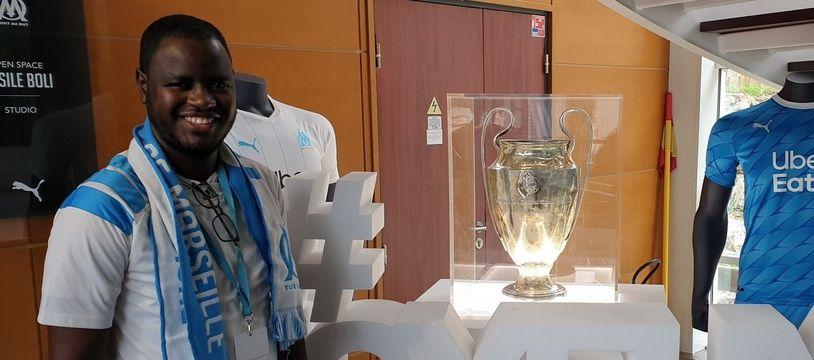 Mamadou Kaly Ba a pu voir la Ligue des champions à la Commanderie.
