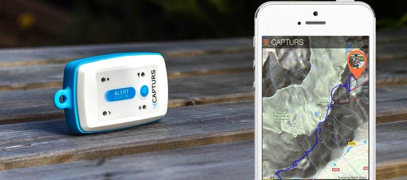 La balise Capturs inventée par une start-up toulousaine.