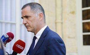 Le président du conseil exécutif corse, Gilles Simeoni. (archives)
