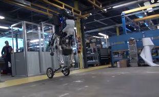 Handle, le dernier robot de la filiale de Google Boston Dynamics.