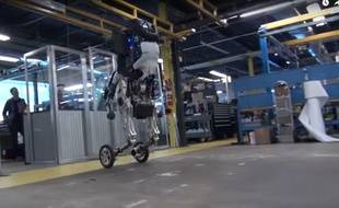 Handle, le dernier robot de la filiale de Google Boston Dynamics.