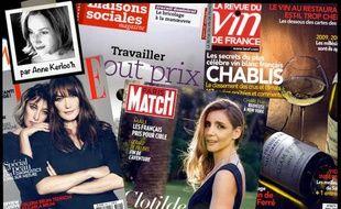 Montage de Une de presse/Revue de presse du 7 novembre 2013