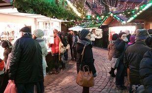 Attentat à Berlin: Reportage au marché de Noël de Fribourg.