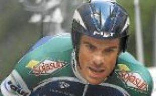 Le coureur Jimmy Engoulvent.